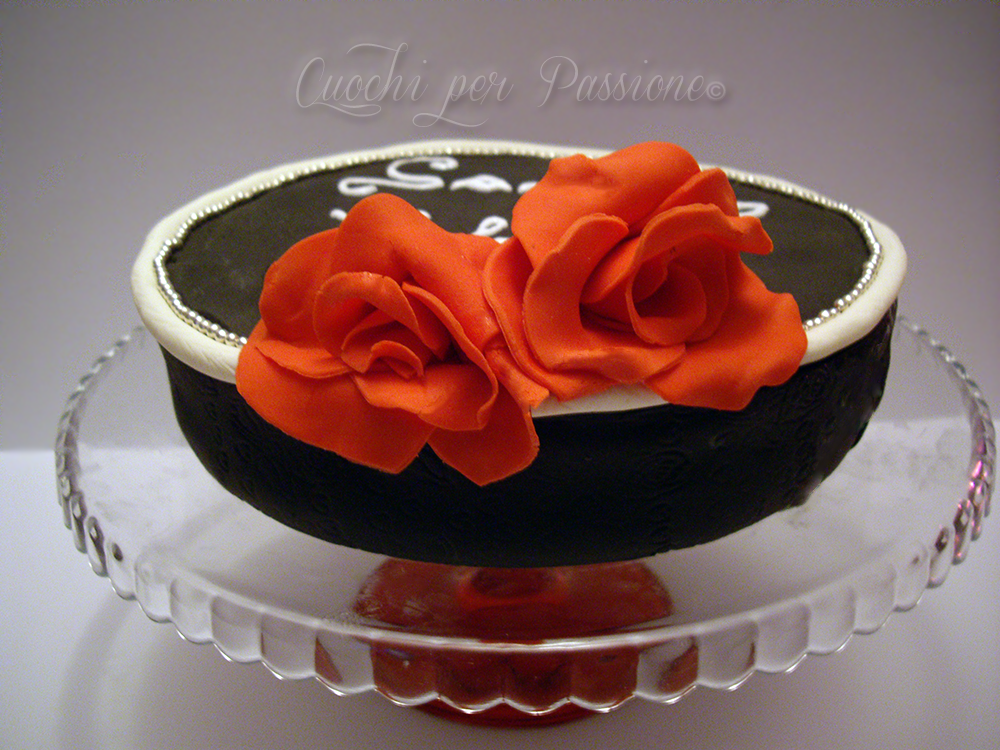 torta san valentino (base pan di spagna)