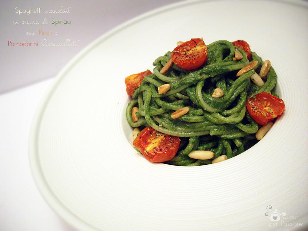 http://cuochiperpassione.altervista.org/wp-content/uploads/2014/11/Spaghetti-in-crema-di-Spinaci-con-Pinoli-e-Pomodorini-caramellati.jpg